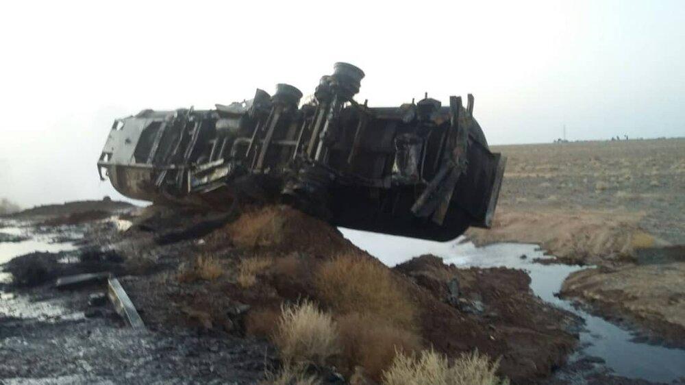 مصدومیت ۱۵ زائر ایرانی در عراق در حادثه واژگونی یک دستگاه ون+ اسامی