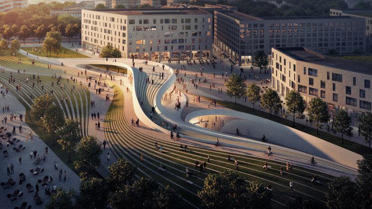 طراحی ایستگاههای جدید مترو در اسلو با الهام از طبیعت