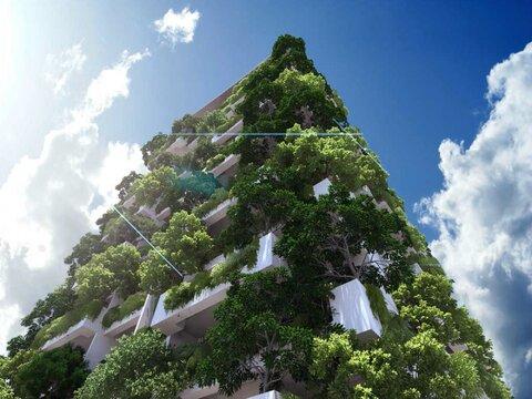 باغهای عمودی؛ آینده طراحی منظر شهری