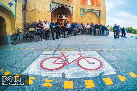 Isfahan approved safety rules for cyclists