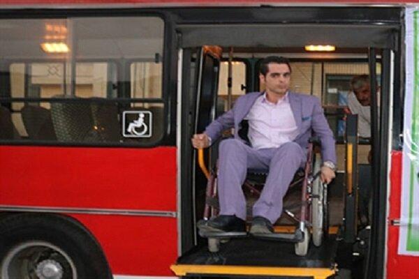 استفاده یکهزار معلول از ۶۰ سفر رایگان با اتوبوس و مترو