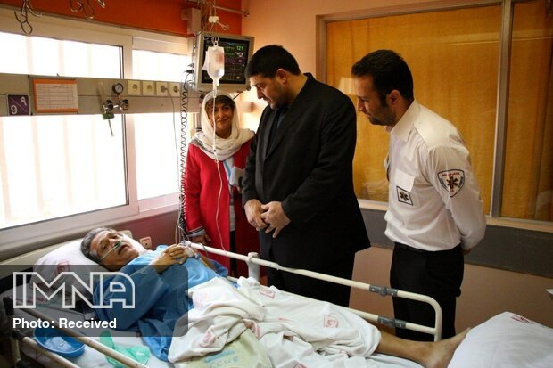 اورژانس تهران مشاور سازمان جهانی بهداشت را نجات داد