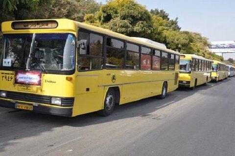 جابهجایی عزاداران اربعین با ۲۵۰ دستگاه اتوبوس در شیراز