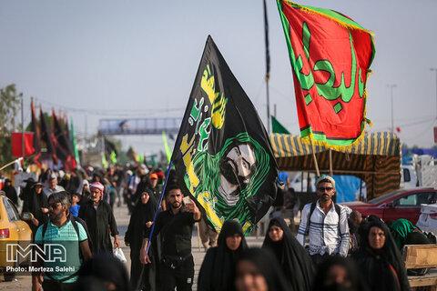 تردد زائران خارجی از مرز شلمچه به ۱۳۵ هزار نفر رسید