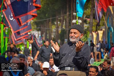 مراسم اربعین حسینی در نجف آباد