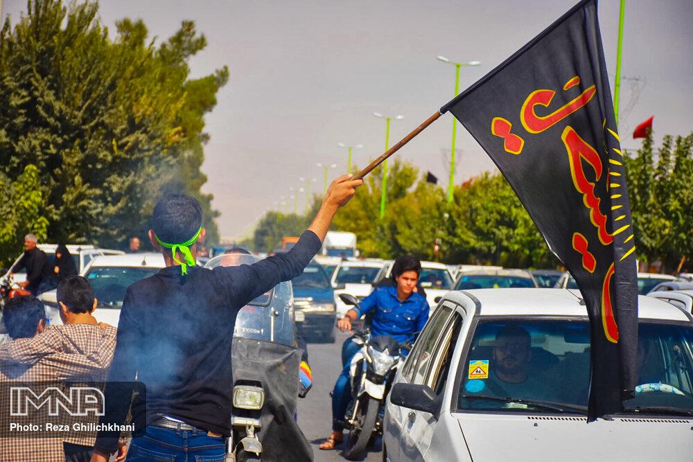 ۶۵ درصد زائران حسینی از خودروی شخصی استفاده کردهاند
