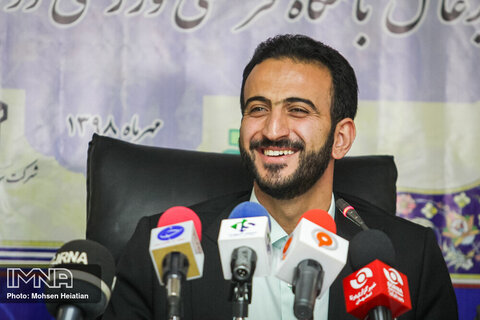 جواد محمدی مدیرعامل باشگاه ذوب آهن اصفهان