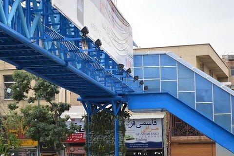 پل عابر پیاده چهارراه زند برداشته میشود