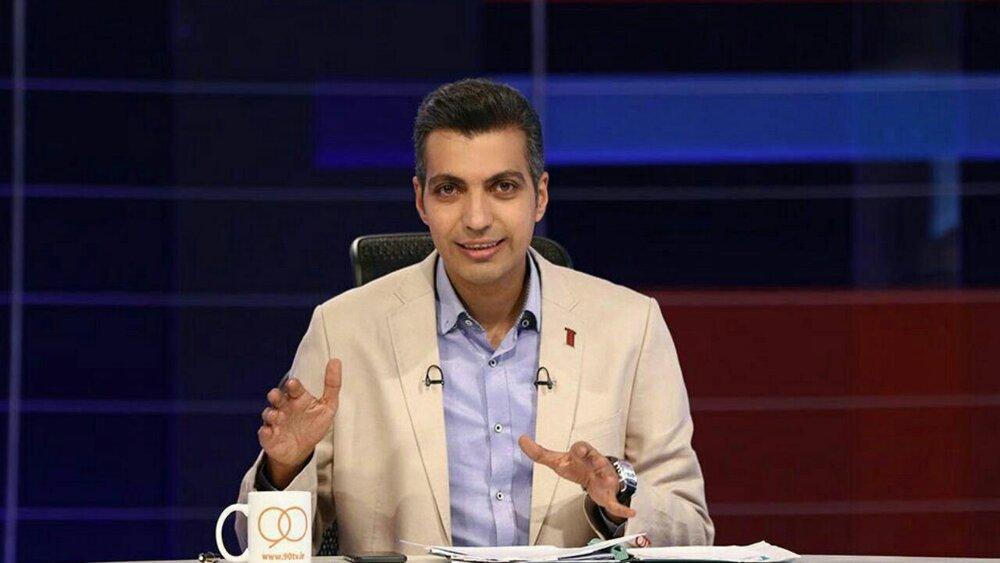 اهدای جایزه ناصر حجازی به فردوسیپور