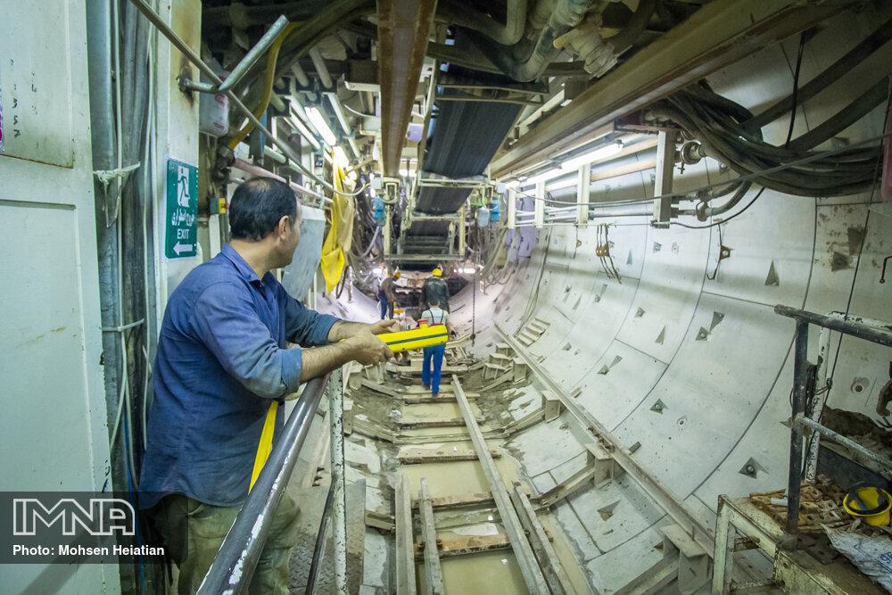 پروژه متروی قم با کمبود منابع مالی روبه رو است