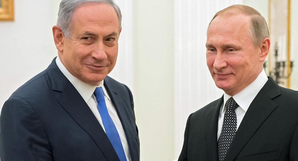 پوتین و نتانیاهو درباره سوریه رایزنی کردند