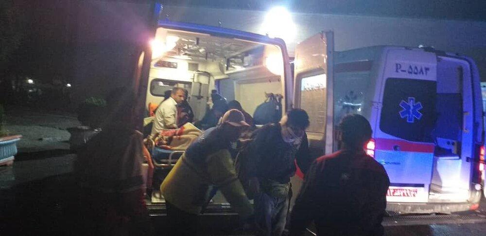 حوادث ترافیکی شب گذشته در اصفهان یک کشته و ۷ مصدوم داشت