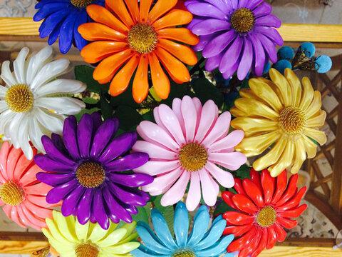 برگزاری جشنواره گلهای داوودی در اصفهان