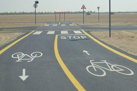 احداث ۵۰ کیلومتر مسیر دوچرخهسواری