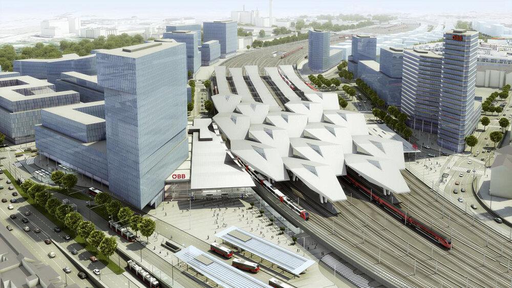 پایدارترین ایستگاه راهآهن اروپا در وین