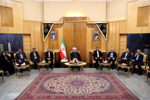 """رئیسجمهور: هدف آمریکایی """"انزوای ایران"""" ناکام مانده است"""