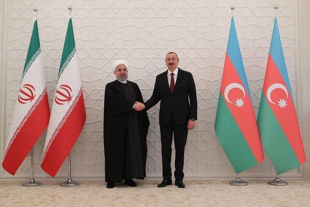روسای جمهور ایران و آذربایجان دیدار کردند