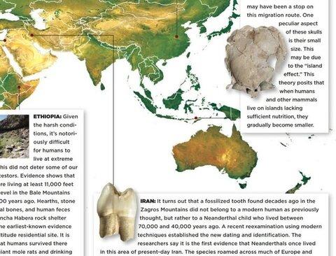 دندان انسان نئاندرتال کرمانشاه در بین ۱۰ کشف اخیر جهان