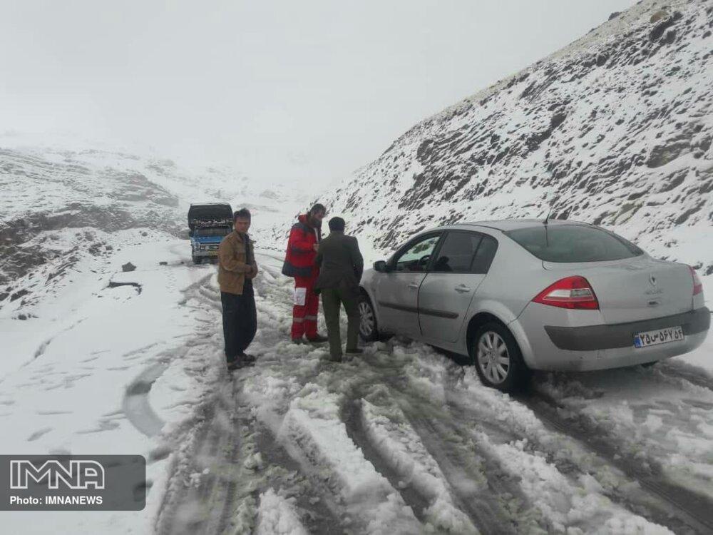 آخرین وضعیت جادههای استان اصفهان پس از بارشها