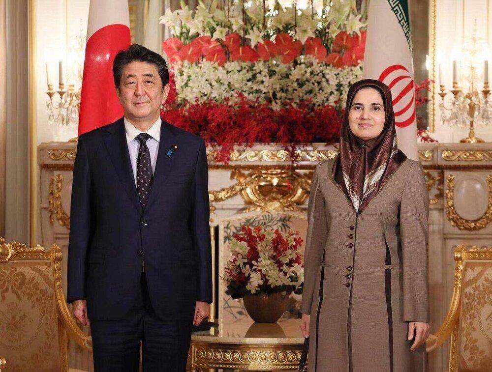 جنیدی: بعنوان نماینده دولت به ژاپن سفر کردم