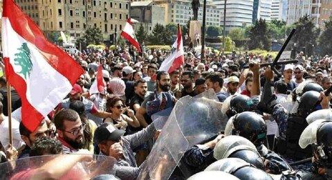 ادامه اعتراض لبنانیها به اوضاع معیشتی برای هفتمین روز متوالی