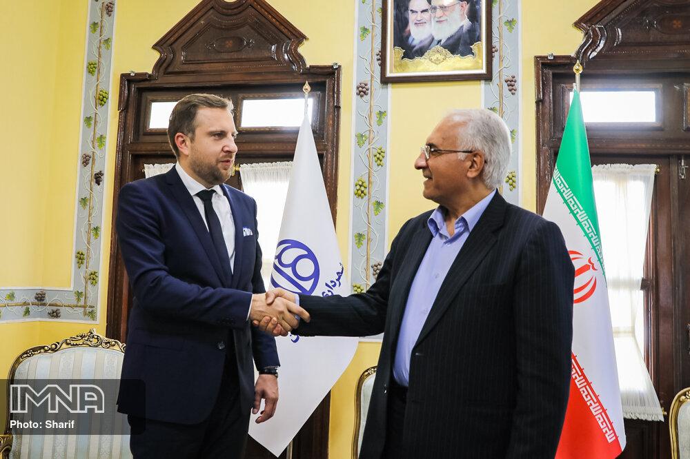 دیدار شهردار اصفهان با عبدالله اوسکاکا شهردار سارایوو