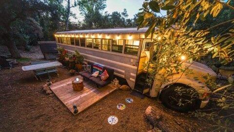 عجایب شهر/ اتوبوسی که به یک خانه دنج تبدیل شد