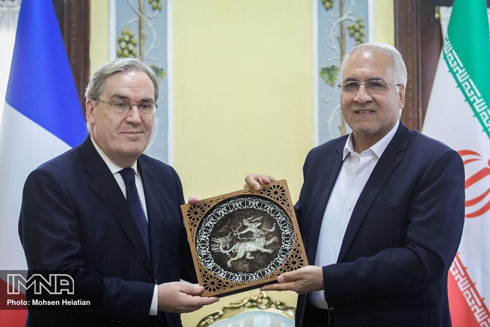 دیدار شهردار اصفهان و سفیر فرانسه