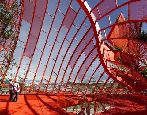 عجایب شهر/ بلندترین ساختمان در جمهوری چک با الهام از تغییرات اقلیمی