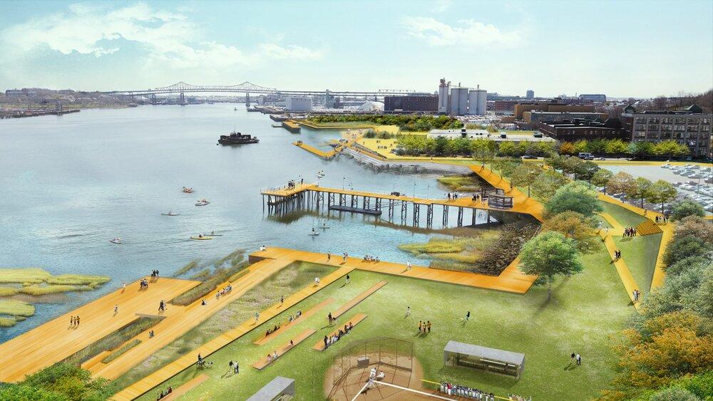 پارک های مرتفع بوستون، چاره سیل های ویرانگر