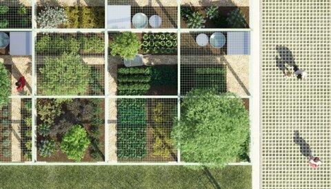 تبدیل پارکینگهای پاریس به باغهای شهری