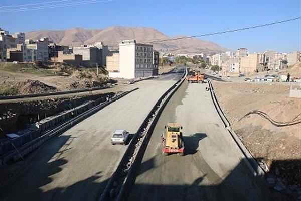 پیشرفت ۹۰ درصدی پروژه تقاطع غیرهمسطح توحید