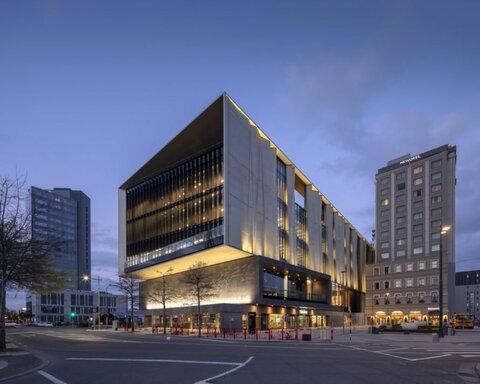 ایجاد کتابخانه مقاوم به زلزله در نیوزلند