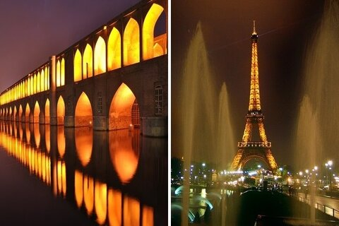 Similarities between Isfahan, Paris resulted in constructive interactions