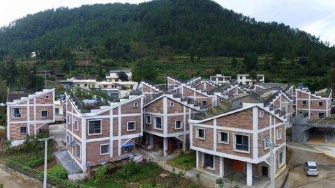 دهکده مقاوم به زلزله در چین