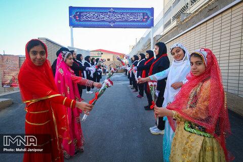 آیین افتتاح دبیرستان موقوفه صارمیه