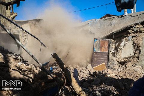 ارسال مواد غذایی به مناطق زلزله زده آذربایجان شرقی