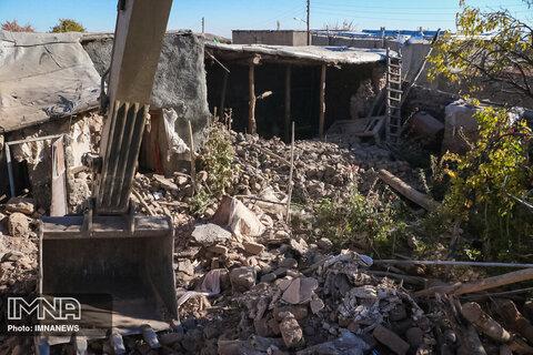 زلزله در روستای ورنکش آذربایجان شرقی