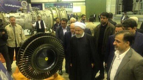 کارخانه توربینسازی غدیر یزد با حضور رییس جمهور افتتاح شد