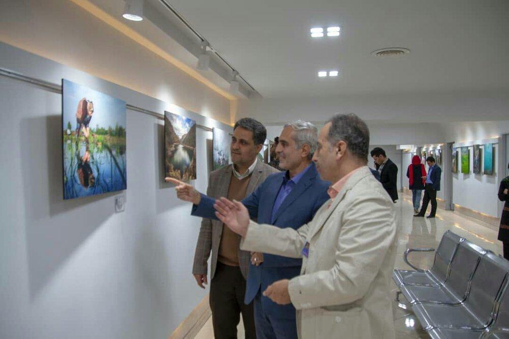 نمایش ۸۰ اثر عکاسی عکاسان آزاد در نگارخانه شهر کرمانشاه