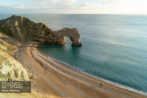 ساحل Durdle Door در انگلستان