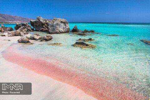 ساحل Elafonisi در یونان
