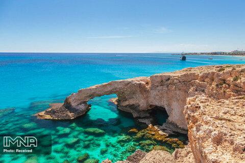 ساحل Cape Greco در قبرس