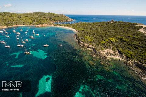 جزیره Île de Porquerolles در فرانسه