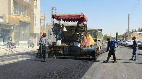 """افتتاح خیابان """"آزادگان غربی"""" کوشک در دهه فجر"""