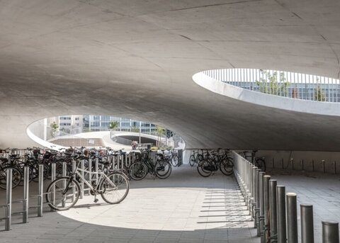 بزرگترین پارکینگ دوچرخه در کپنهاگ