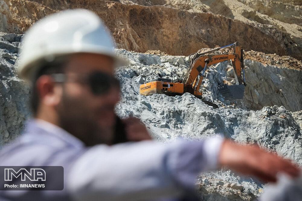 عملیات شناسایی ذخایر معدنی امسال نیز ادامه خواهد داشت