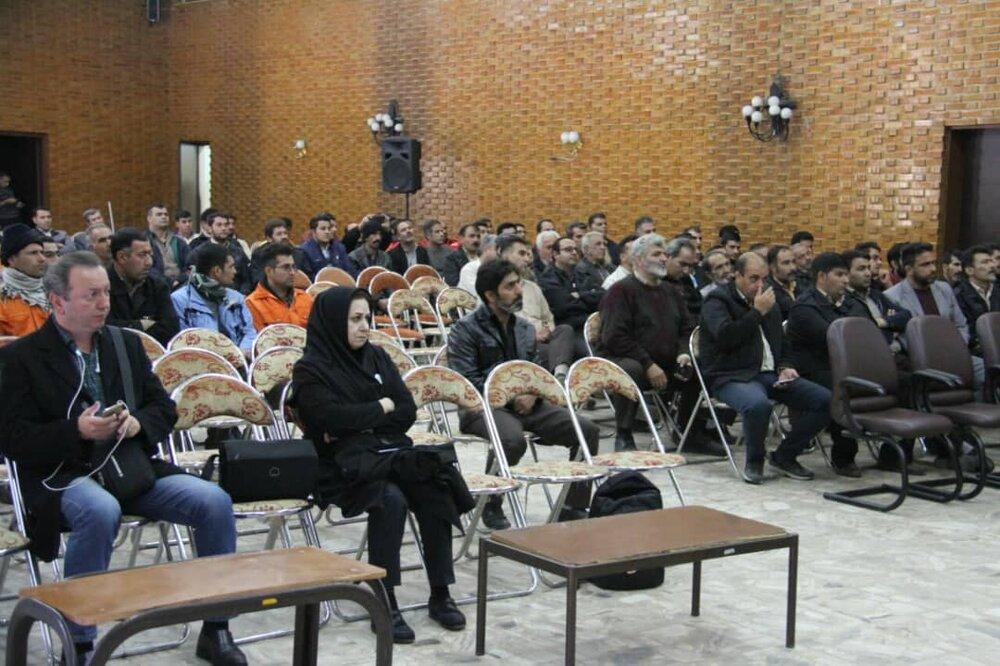 برگزاری کارگاه آموزشی ارتوپدی ویژه پاکبانان کرمانشاه