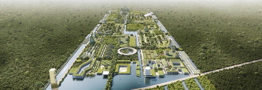 اولین شهر جنگلی هوشمند جهان