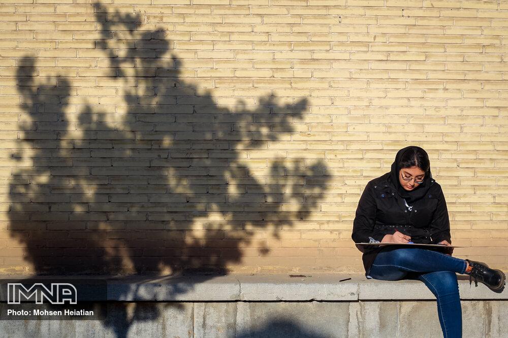 خط پر رنگ اصفهان